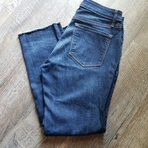"""EUC LOFT Ann Taylor curvy straight ankle jeans 27"""""""